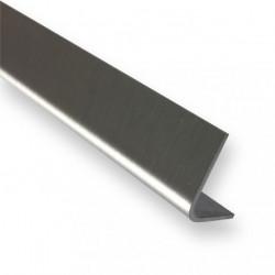 esquinera pulida en el  exterior 15 mm x 15 mm- largo 1000mm