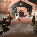 belén navideño en inox