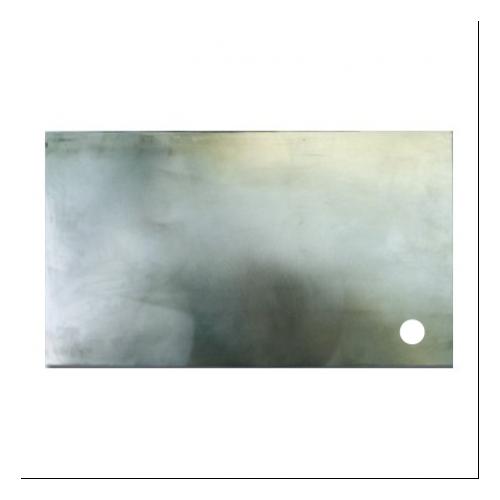 Plancha rectangular con evacuación a la derecha
