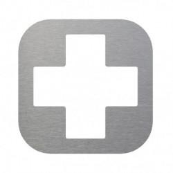 pictograma enfermeria en inox