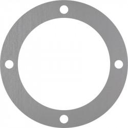 corona en inox 304L bruto con 4 agujeros