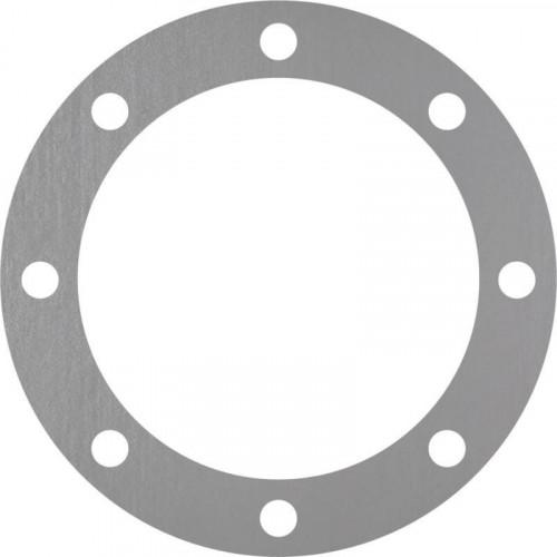 corona en inox 304L bruto con 8 agujeros
