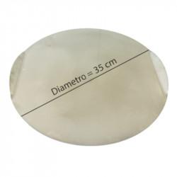 Placa de preparación d. 35 cm