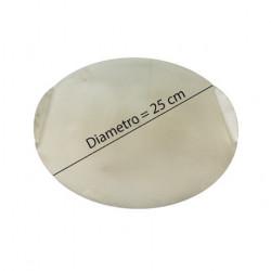 Placa de preparación d. 25 cm