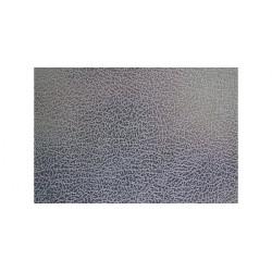 Placa rectangular en inox textura cuero