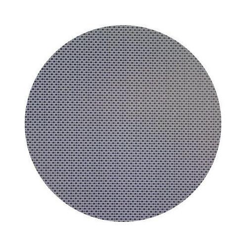 Disco a medida en inox textura lino