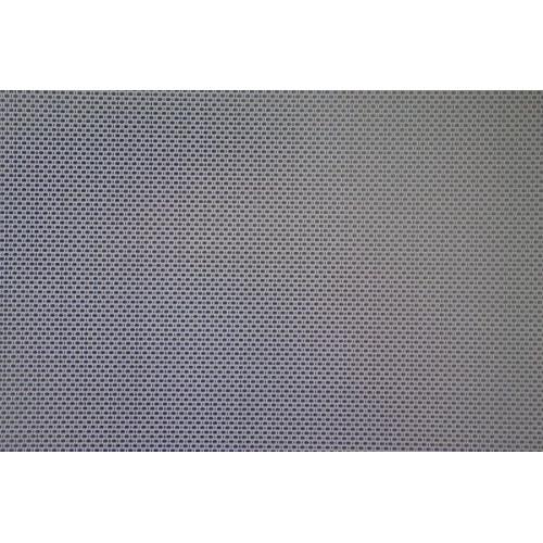 Placa rectangular en inox textura lino