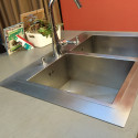 Placa inox satinada 304L