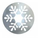 flocon de neige boule de Noël
