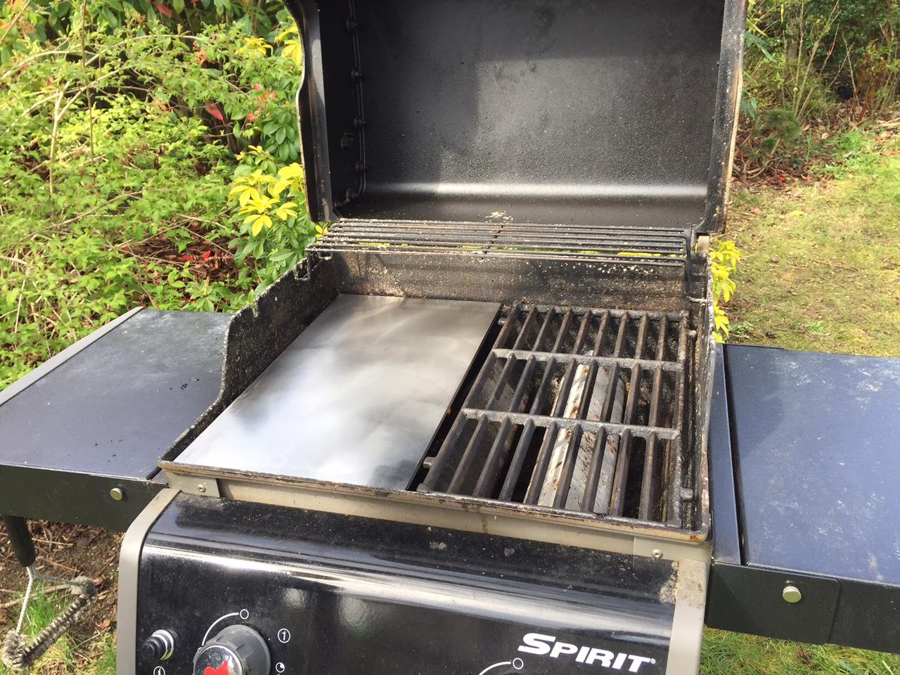 barbecue et plancha inox